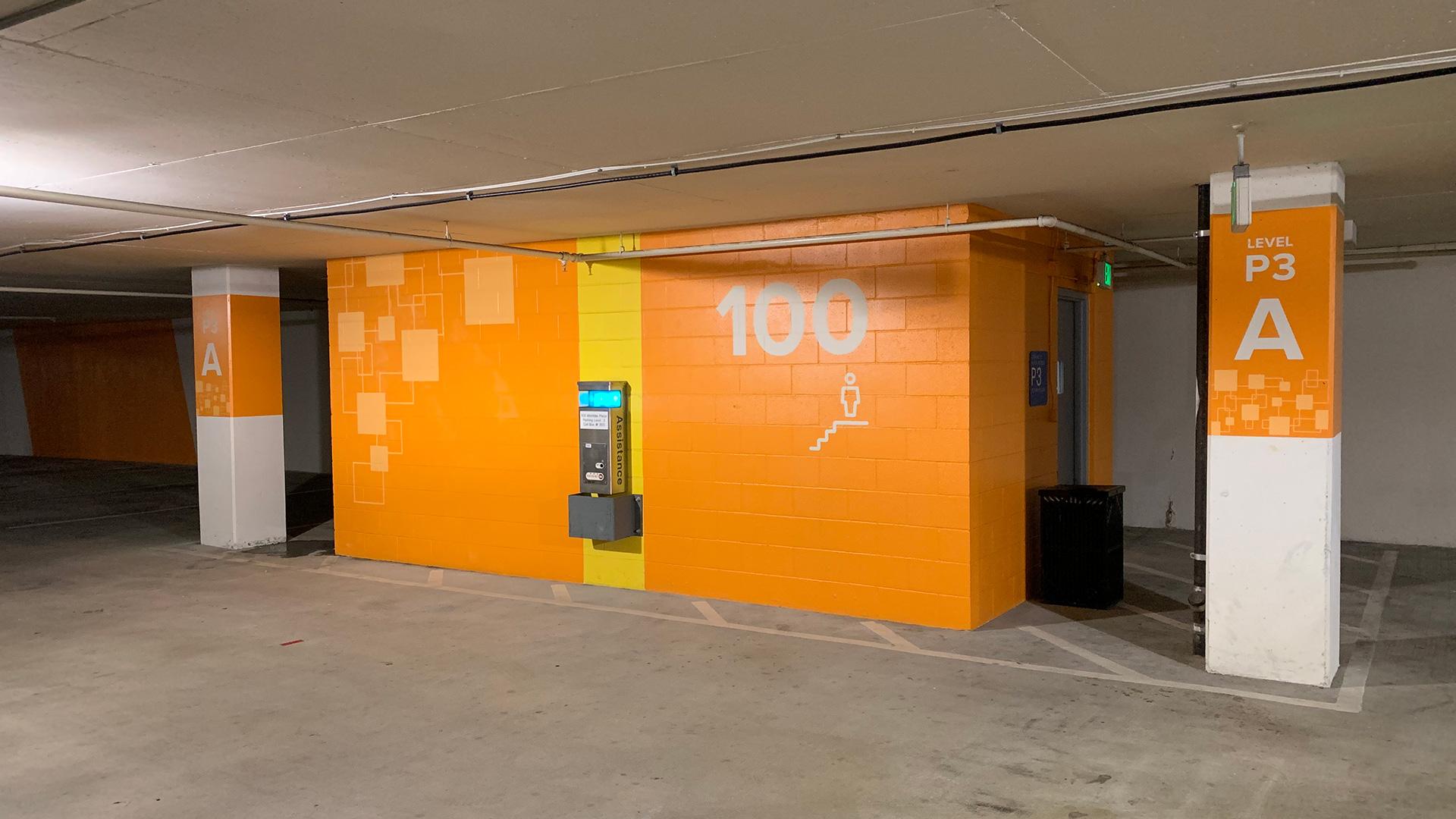 SCC_Parking_Level3_Bldg100_Stairwell